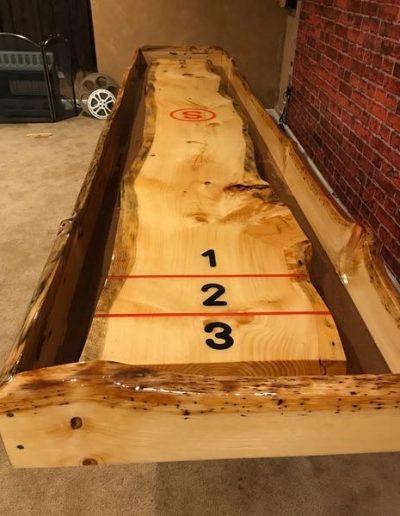 Custom Shuffle Board